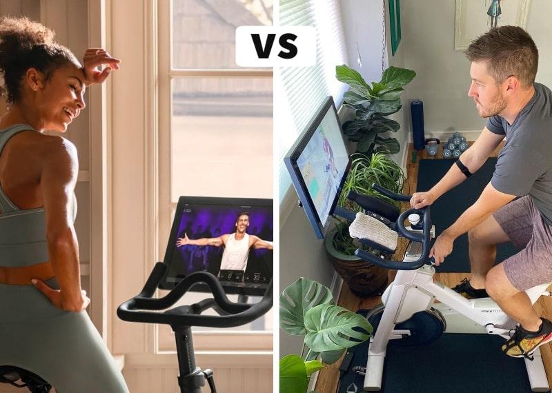peloton vs myx fitness bike review